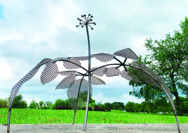 Shade Sculpture Will Soon Grow At Legacy Grove Winchester Sun